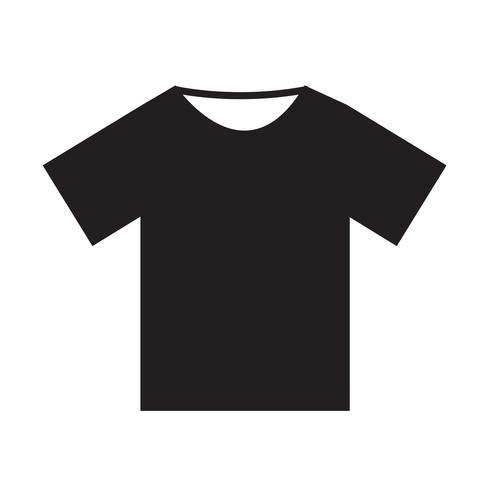 Tshirt ikon vektor illustration