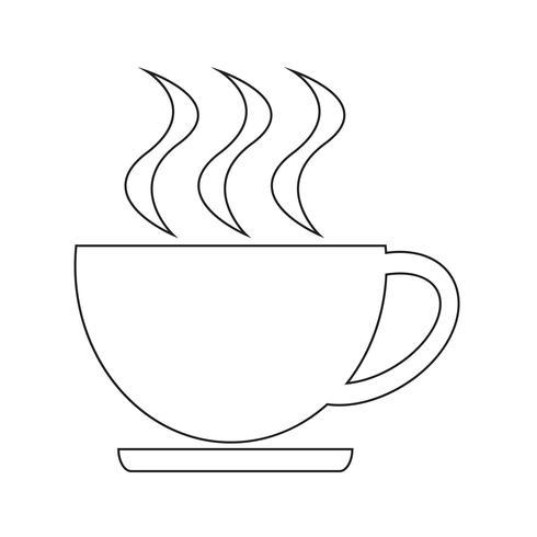 Getränk Symbol Vektor-Illustration