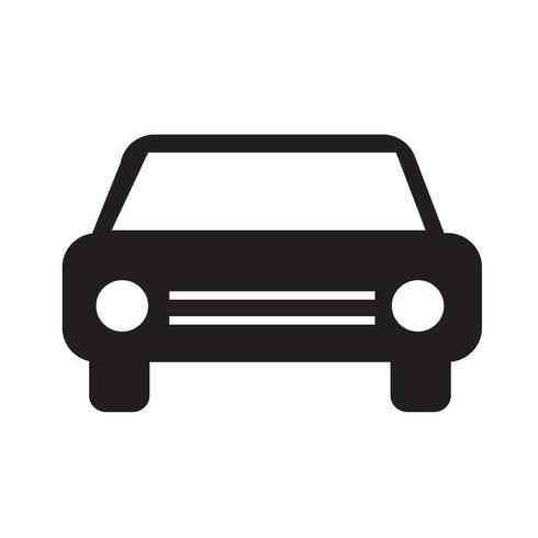 Voiture icône illustration vectorielle