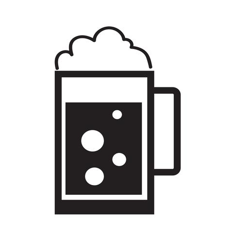 Drink pictogram vectorillustratie