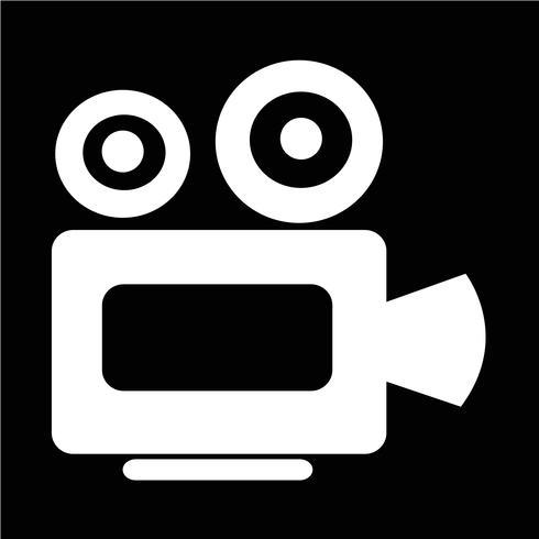 Ícone da câmera do cinema