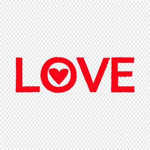 amour icône illustration vectorielle