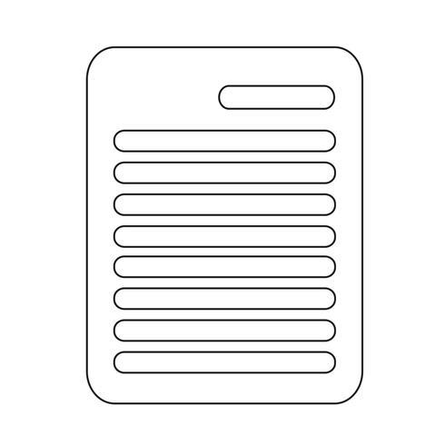 Presse-papiers icône vector illustration