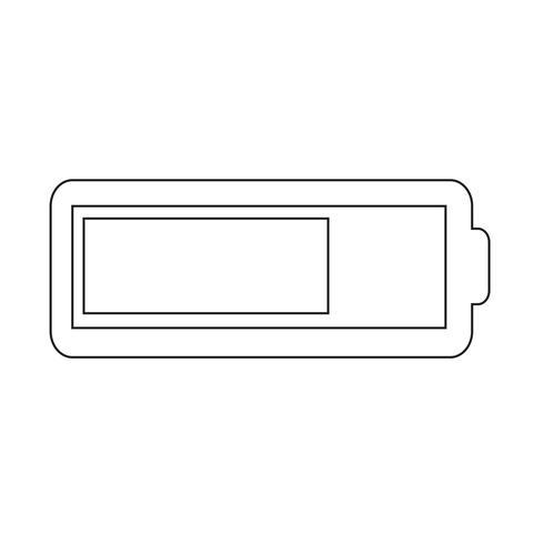 Battery icon Vector Illustration
