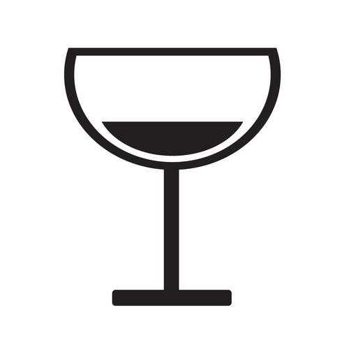 Ilustración de vector de icono de bebida