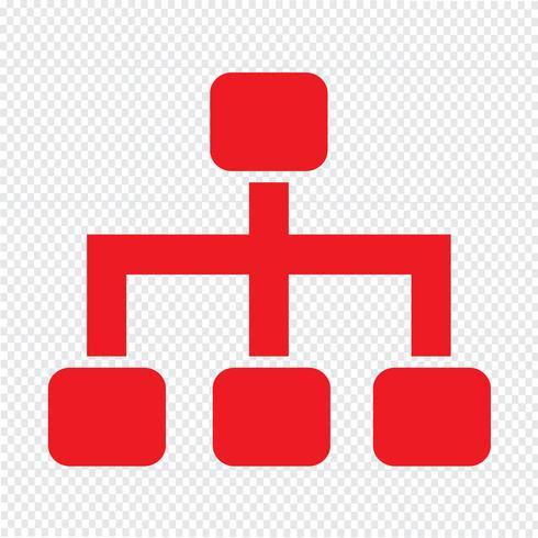 Tree Structure icon vector illustration