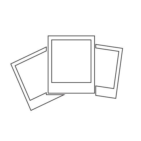 Illustrazione vettoriale icona foto