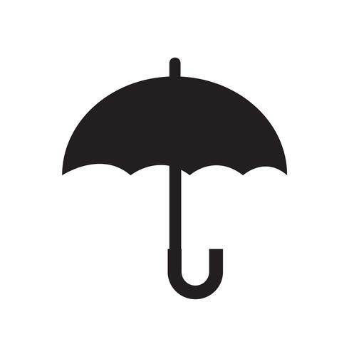 Parapluie icône vector illustration