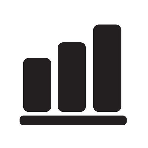 Piktogramm-Diagrammikone Vektor-Illustration