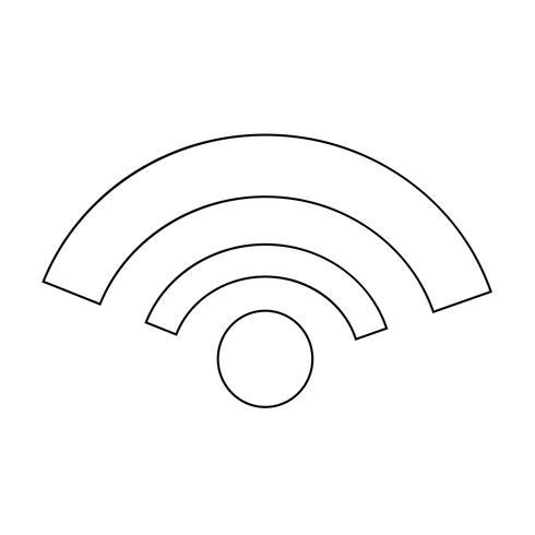 WIFI Icon vector illustration