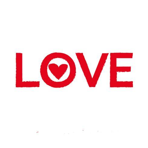 Liebe Symbol Vektor-Illustration
