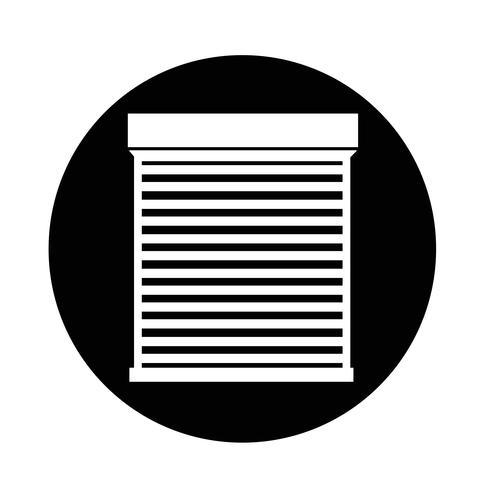 Icono de la puerta enrollable
