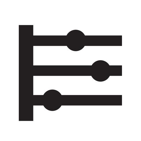 Tijdlijn pictogram vectorillustratie