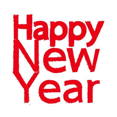 Gelukkig Nieuwjaar pictogram vectorillustratie