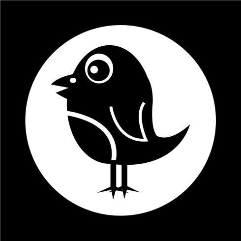 Icono de pájaro