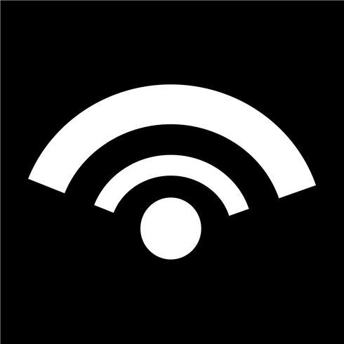 Illustration vectorielle icône WIFI vecteur