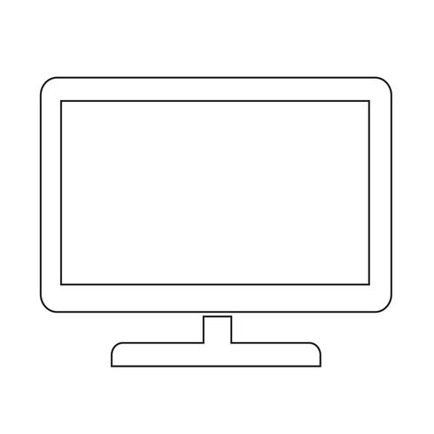 tv icon Illustration vectorielle