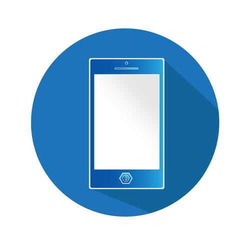 icône illustration vectorielle smartphone