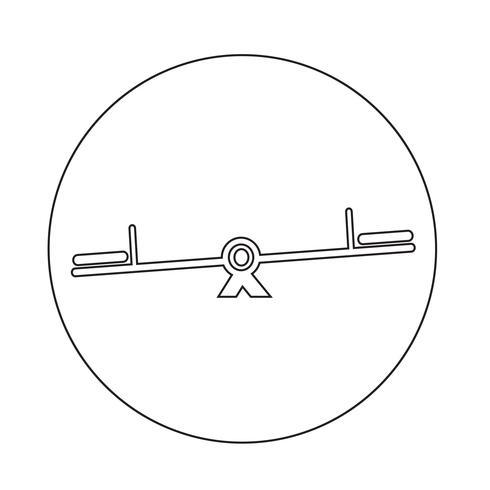 Schaukel-Symbol