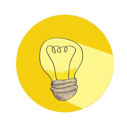 Glödlampa ikon