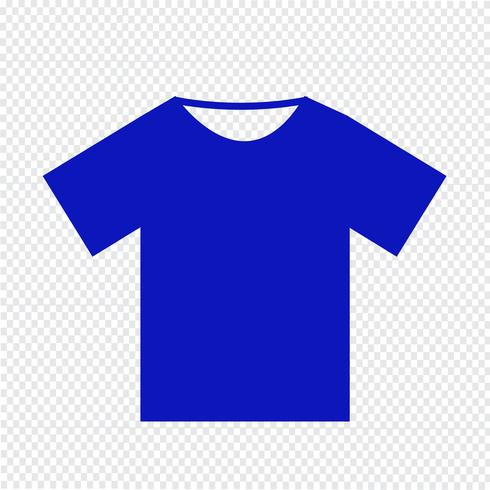 Tshirt icon Vector Illustration