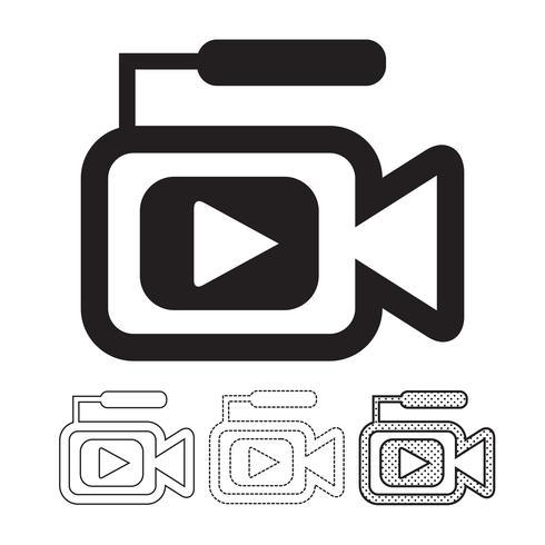icono de cámara de video
