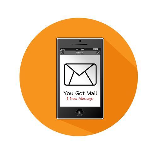 illustrazione di vettore di smartphone icona