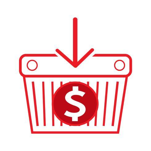 Dollar teken geld pictogram