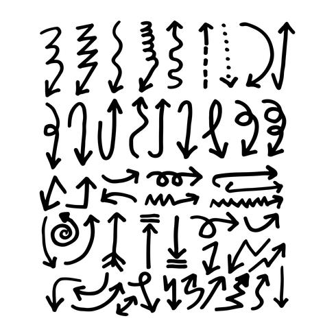 Hand drawn Arrow icon