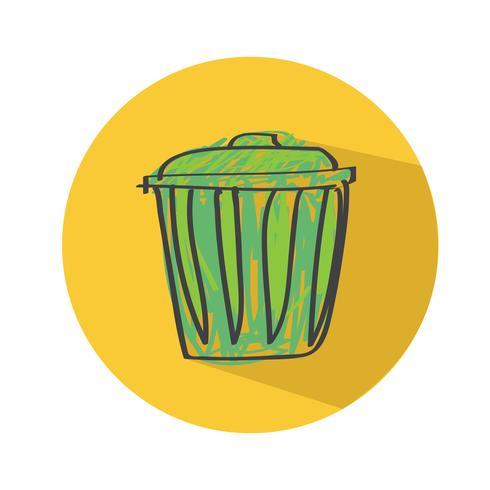 Icono de signo de reciclaje