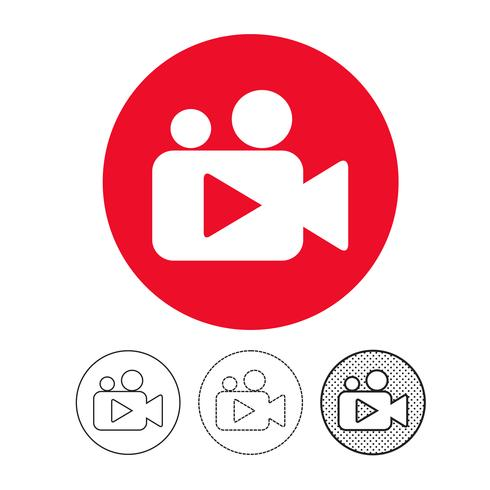 icône de caméra vidéo