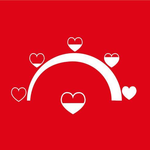 Valentine's day card idea Love meter