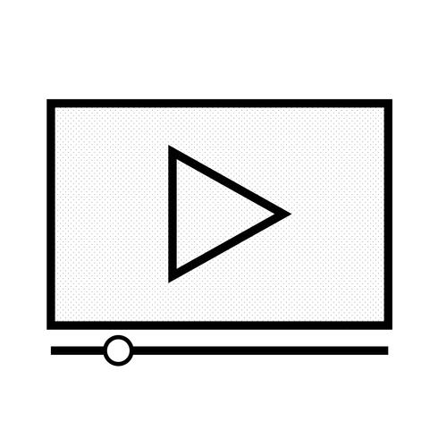 Video stream play icon