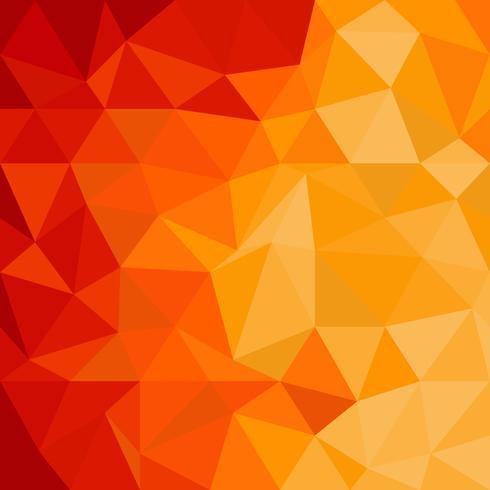 Fondo poligonal degradado vector