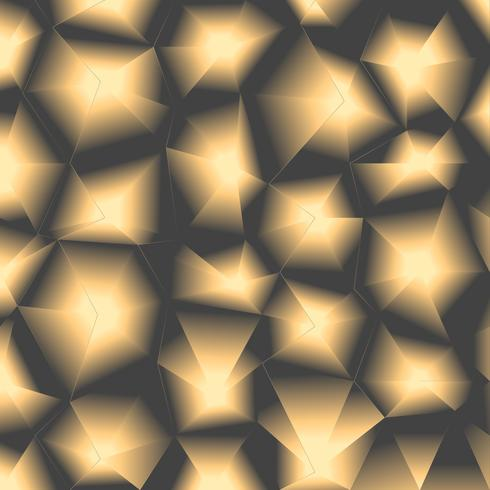 Fondo poligonal de lujo vector