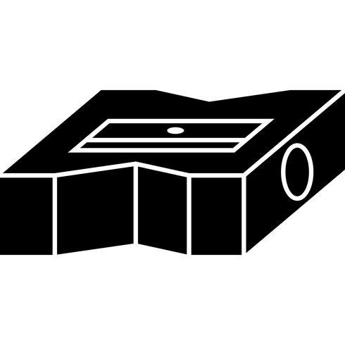 Puntenslijper pictogram Vector