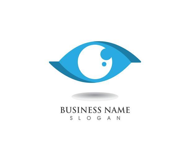 Eye care logo and symbol