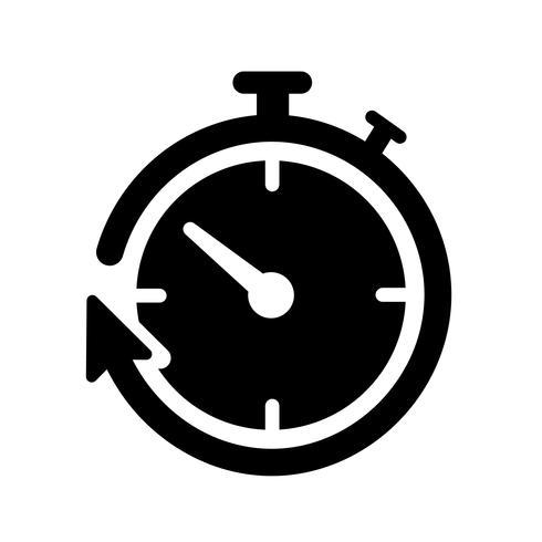 timer ikon vektor
