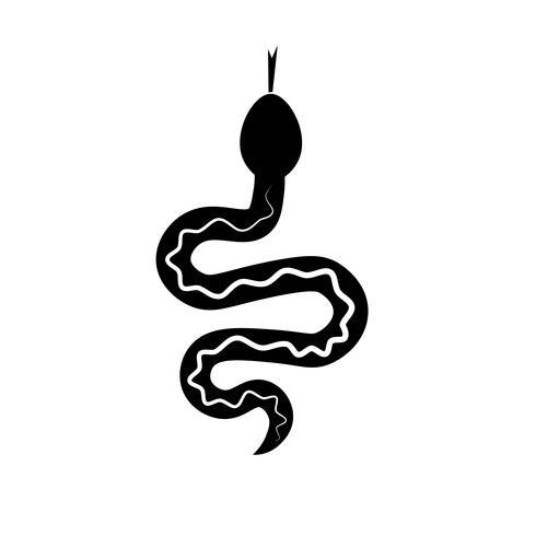 Schlangenikone Vektor