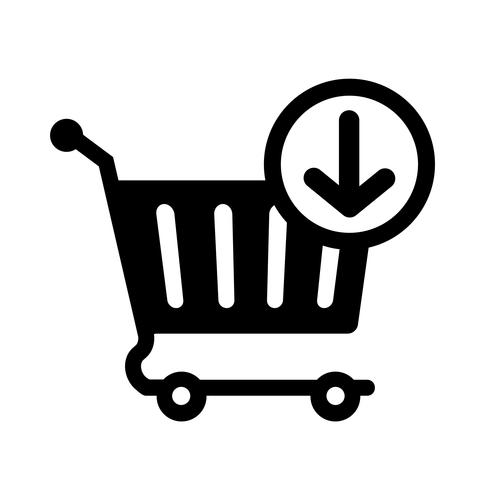 Add To Cart Icon Vector