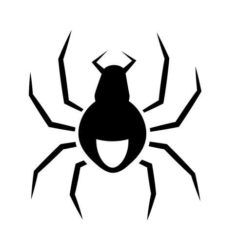 Spinnen-Ikonen-Vektor vektor