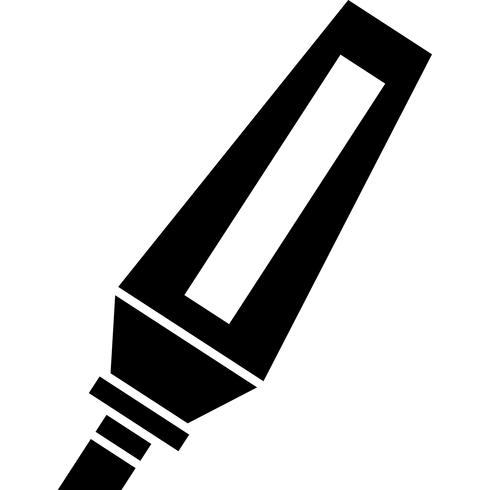 Permanent Marker Icon Vector