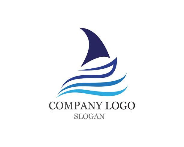 Ocean barco crucero liner nave silueta simple lineal vector