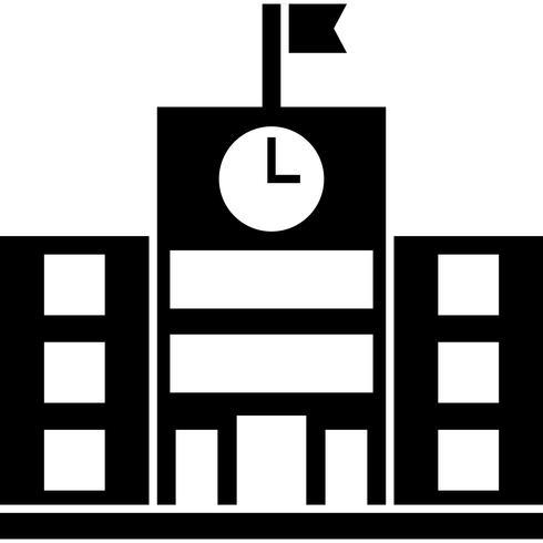 Scuola icona vettoriale