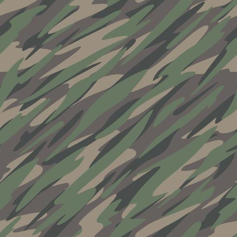 Camouflage Abstract Seamless Pattern