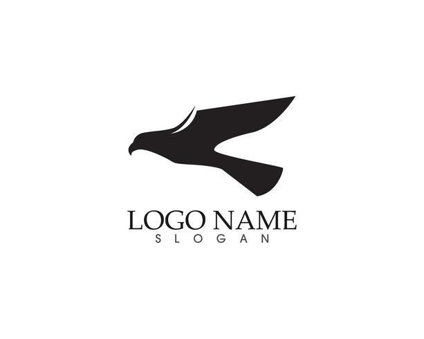 Adler Vogel Zeichen abstrakte Vorlage Symbole App