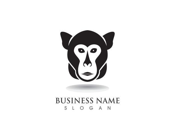 Macaco símbolo logotipo e símbolo