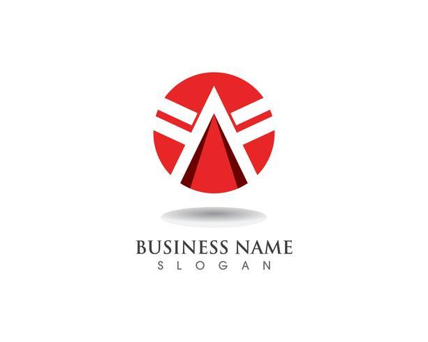 Un logotipo y símbolos. vector