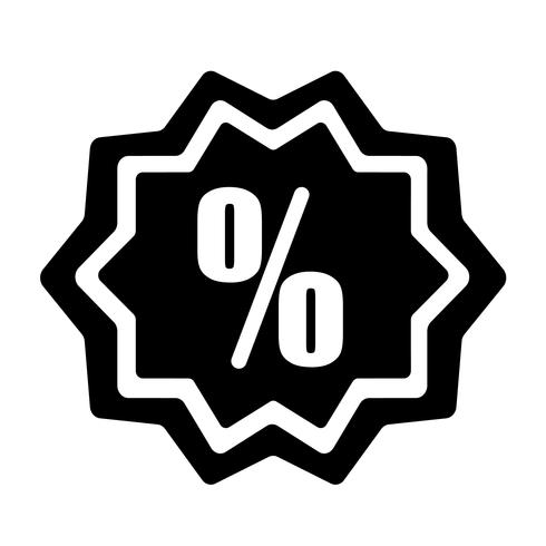 Discount Icon Vector