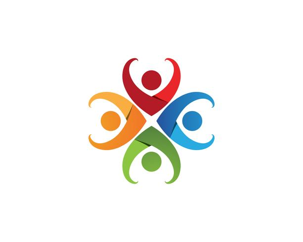 Community people care logo and symbols template ..